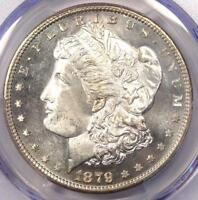 1879-S MORGAN SILVER DOLLAR $1 - CERTIFIED PCGS MINT STATE 67 PQ PLUS - $1,600 VALUE