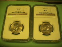 2 TWO 1979   D NGC MS 65 SUSAN B. ANTHONY DOLLARS     NICE COINS
