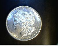 1879-S US MORGAN DOLLAR, UNCIRCULATED HIGH GRADE, .7734 OZ SLV US-5503