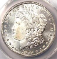 1879-S REVERSE OF 1878 MORGAN SILVER DOLLAR $1. ANACS MINT STATE 60 DETAIL -  VARIETY