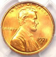 1971 S LINCOLN MEMORIAL CENT PENNY 1C   PCGS MS66 RD PLUS GRADE   $175 VALUE