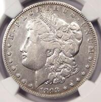 1893-O MORGAN SILVER DOLLAR $1 - NGC VF DETAILS -  DATE - CERTIFIED COIN