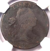 1801 DRAPED BUST LARGE CENT 1C 100/000 S 221   NGC VG DETAILS    COIN