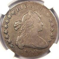 1800 DRAPED BUST SILVER DOLLAR $1   NGC VF DETAILS    CERTIFIED COIN