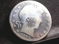 1894 BARBER HALF DOLLAR 50 CENTS