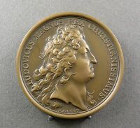 FRENCH MEDAL. KING LOUIS XIV. REX. 1700. SEXIRI COMMERCIIS REGUNDIS. BY MAUGER.