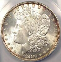 1880 MORGAN SILVER DOLLAR $1   ANACS MS65    GEM 1880 P   $750 VALUE