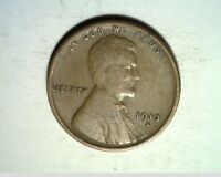 1913-S US WHEAT CENT, CIRCULATED COPPER US-6299