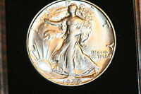 FROSTY ORIGINAL CH BU 1940 S SILVER WALKING LIBERTY HALF DOLLAR FREE SHIP