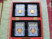 2007-S  PRESIDENTIAL DOLLAR SET ICG-PR70 DCAM - A FIRST STRIKE COIN 4 PC