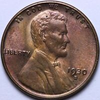 BU 1930-S WHEAT CENT PENNY R5TM