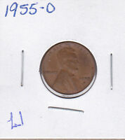 1955 D LINCOLN CENT