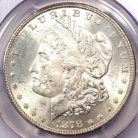 1878 7/8TF MORGAN SILVER DOLLAR $1 WEAK   PCGS MS63    VARIETY