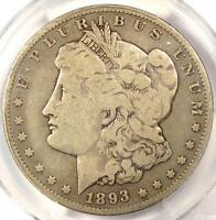 1893-O MORGAN SILVER DOLLAR $1 - PCGS VG8 -  CERTIFIED KEY DATE COIN