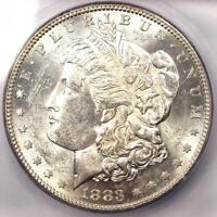 1883 S MORGAN SILVER DOLLAR $1   ICG MS62    DATE IN UNC/BU   $1,620 VALUE