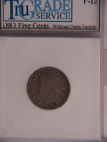 GENUINE  1883 NO CENTS LIBERTY