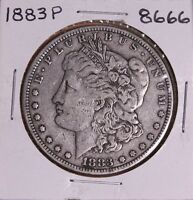 1883 P MORGAN SILVER DOLLAR 8666 VF
