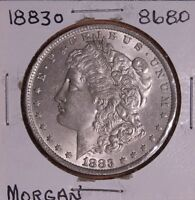 1883 O MORGAN SILVER DOLLAR 8680 MS