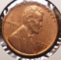 U.S. 1955     LINCOLN CENT   UNC  RED