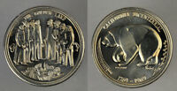1769 1969 CALIFORNIA BICENTENNIAL SILVER COIN  AWESOME GRIZZLY BEAR