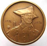N.Y. BICENTENNIAL MEDAL 1776 1976 LIBERTY NEW YORK STATE COMMEMORATIVE MEDAL