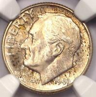 1949 D ROOSEVELT DIME 10C   CERTIFIED NGC MS67 FT    IN MS67 FB   $238 VALUE