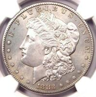 1883 S MORGAN SILVER DOLLAR $1   NGC UNCIRCULATED DETAILS    IN UNC/MS