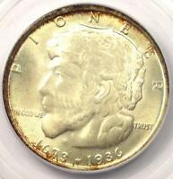 1936 ELGIN HALF DOLLAR 50C - PCGS MINT STATE 67 CAC PQ -  IN MINT STATE 67 CAC - SUPERB COIN