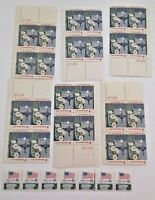 LOT OF US ERROR POSTAGE STAMPS, ALL MINT NEW