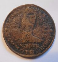 1800S SHOE TOKEN COIN NEW YORK