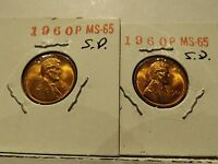 1960 P LINCOLN CENT  SMALL DATE 2
