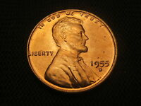 1955 D BU OLD  LINCOLN WHEAT CENT EACH ADDITIONAL COIN SHIPS FREE