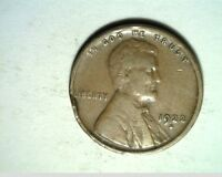 1922 D US WHEAT CENT CIRCULATED COPPER US 6304