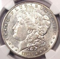 1883 S MORGAN SILVER DOLLAR $1   CERTIFIED NGC AU55    DATE   NEAR UNC/MS