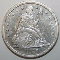 1843 SEATED SILVER DOLLAR B94