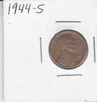 1944 S LINCOLN CENT