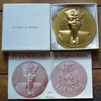 COMPLETE 1977 SOCIETY OF MEDALISTS ISSUE 96 KING TUT  2 3/4