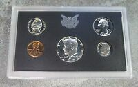 1970 UNITED STATES US MINT 5PC 40 SILVER HALF DOLLAR COIN PROOF SET