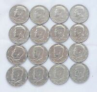 LOT OF 16 COINS: BICENTENNIAL 1776 1976 KENNEDY HALF DOLLARS EXCELLENT CONDITION
