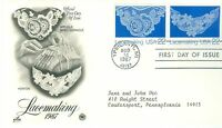 1C GEMS US 2353-4 LACEMAKING ARTCRAFT CACHETED ADDRESSED FDC