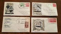 USS GRAYLING SUBMARINE CACHET LOT  NAVAL COVERS WWII SIGNED BY COMMANDER 209