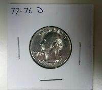 1776 1976 D WASHINGTON QUARTER DRUMMER BOY REVERSE