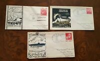 USS TRITON SUBMARINE CACHET LOT  NAVAL COVERS WWII SS 201 1940 LAUNCH SIGNED