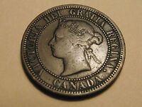 2841 CANADA; 1 LARGE CENT 1881