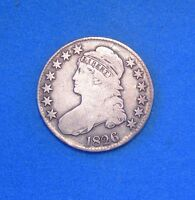 1826 CAPPED BUST HALF DOLLAR VG GOOD CONDITION 50C SILVER COIN
