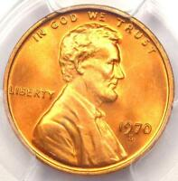 1970 S LARGE DATE LINCOLN MEMORIAL CENT 1C PENNY   PCGS MS67 RD   $400 VALUE