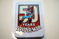 SPIDER MAN  2013 GENUINE PURE SILVER COIN::LARGE COLORFUL METAL CASE WITH COA