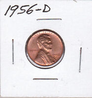 1956 D LINCOLN CENT
