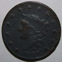 1829 US LARGE CENT V73