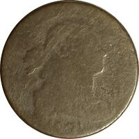 1801 DRAPED BUST LARGE CENT  FRACTION 1/000  S 220 R3   90 UO